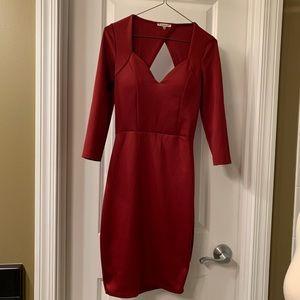 Charlotte Russe Dark Red  Dress